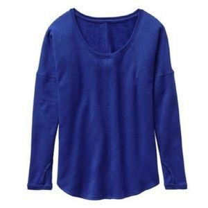 Athleta Studio Scoopneck Sweatshirt, S/M